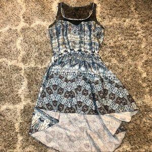 Guess Sleeveless High Low Dress